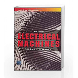 Electrical Machines by S Bhattacharya Book-9780070669215