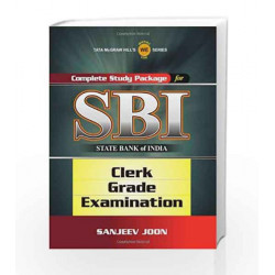 Complete Study Package for SBI (Clerk Grade Exam) by Sanjeev Joon Book-9780071074568