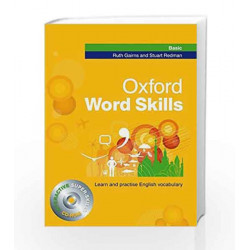 Oxford Word Skills Basic (Book & CD Rom) by Redman Gairns Book-9780194620031