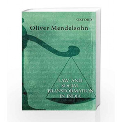Law and Social Transformation in India (Law in India) by Oliver Mendelsohn Book-9780198098478