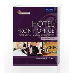 Hotel Front Office: Operations and Management by Jatashankar Tewari Book-9780199464692