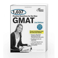 1,037 Practice Questions for the New GMAT (Graduate School Test Preparation) by JACK KORNFIELD Book-9780375428340