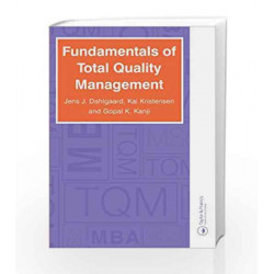 Fundamentals of Total Quality Management by Jens J. Dahlgaard Book-9780748772933