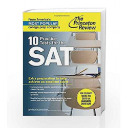 10 Practice Tests for the SAT (College Test Preparation) by JACK KORNFIELD Book-9780804126090
