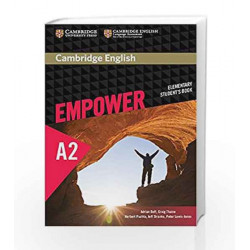 Cambridge English Empower Elementary Student\'s Book by SRIMANI Book-9781107466265