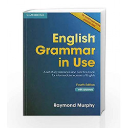 English Grammar in Use: A Self Study Reference and Practice Book Intermediate Learners Book by Murphy Book-9781107649941