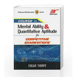 Course in Mental AbilIty and Quantitative Aptitude by Showick Thorpe Book-9781259003660