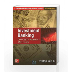 Investment Banking by Pratap Giri Book-9781259006029