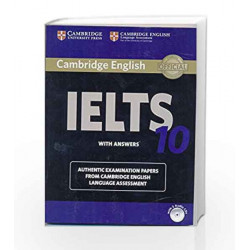 Cambridge IELTS 10 Student\'s Book with Answers (Book & CD) by Cambridge English Language Assessment Book-9781316509012