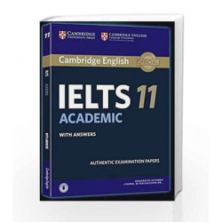 Cambridge English: IELTS 11 Academic with Answers by Cambridge English Language Assessment Book-9781316627303