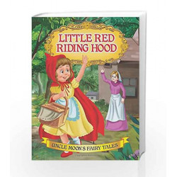 Little Red Riding Hood (Uncle Moon\'s Fairy Tales) by Dreamland Publications Book-9781730118937