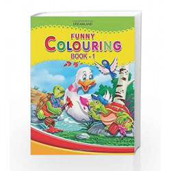 Funny Colouring - Part 1 by Dreamland Publications Book-9781730173950