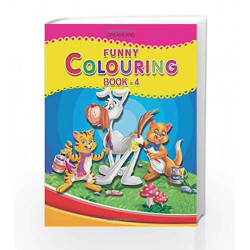 Funny Colouring - Part 4 by Dreamland Publications Book-9781730174254