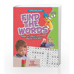 Find the Words - Part 1 by Dreamland Publications Book-9781730176548