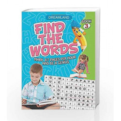 Find the Words - Part 3 by Dreamland Publications Book-9781730176708