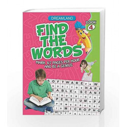 Find the Words - Part 4 by Dreamland Publications Book-9781730176890