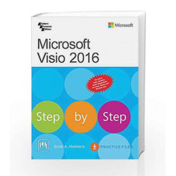Microsoft Visio 2016 Step By Step by Helmers Scott A. Book-9788120351998
