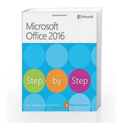 Microsoft Office 2016 Step by Step (Step By Step (Microsoft)) by EKNATH EASWARAN Book-9788120352049