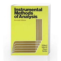 Instrumental Methods of Analysis by Willard Book-9788123909431
