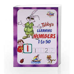 Tubbys Learning Numbers 1 To 50 by Priyanka Book-9788128831898
