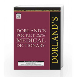 (OLD)DORLAND\'S POCKET MEDICAL DICTIONARY by DORLAND Book-9788131216484
