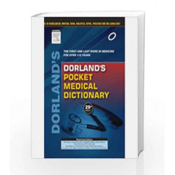 Dorland\'s Pocket Medical Dictionary by Dorland Book-9788131235010
