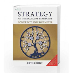 Strategy An International Perspective by Bob De Wit Book-9788131525593