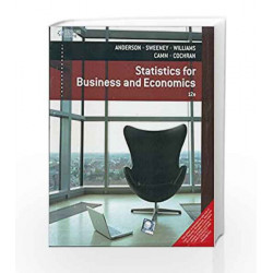 Statistics for Business and Economics by Anderson Book-9788131528136