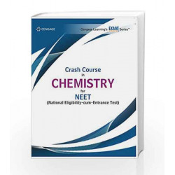Crash Course in Chemistry for NEET by Cengage Learning India Book-9788131533376