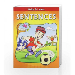 Sentences - Write & Learn by Pegasus Team Book-9788131906934