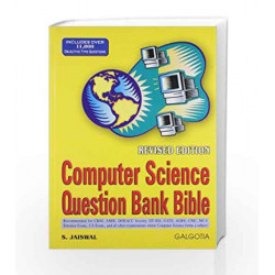 Computer Science Question Bank Bible by S Jaiswal Book-9788175151628