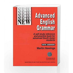 Advanced English Grammar with Answers by Hewings Book-9788175960671