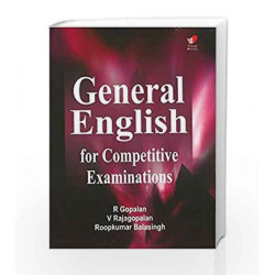 General English for Competitive Examinations by R. Gopalan Book-9788182091108