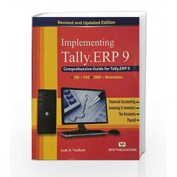 Implementing Tally 9 by A.K. Nadhani Book-9788183332163
