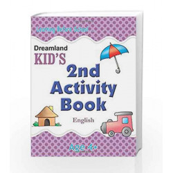 2nd Activity Book - English (Kid\'s Activity Books) by Dreamland Publications Book-9788184513707