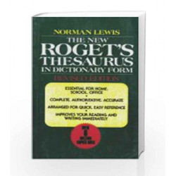 Roget\'s Thesaurus in Dictionary by K V NATARAJAN Book-9788187572268