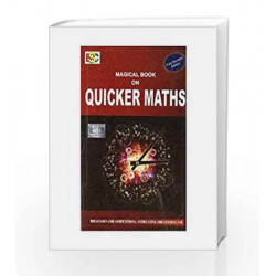 Magical Book on Quicker Maths by Manoj Tyra Book-9788190458924