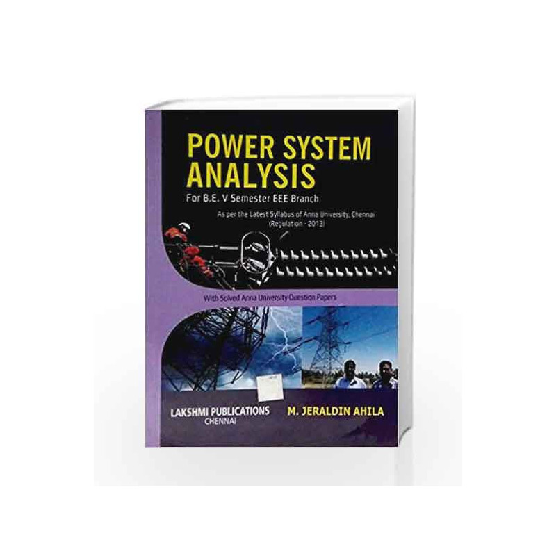 Compwafi Blog Archive Power System Analysis By V Neelakantan