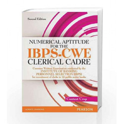 Numerical Aptitude for IBPS - CWE Clerical Cadre by Editorial Team of Content Crop Book-9789332513792
