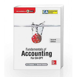 Fundamentals of Accounting for CA - CPT by ROBIN SHARMA Book-9789339203481