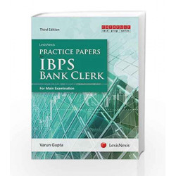 Practice Papers For Ibps Bank Clerk (For Main Examination) by Varun Gupta Book-9789350357606