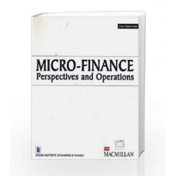 Micro-Finance Perspectives and Operations 2/e by Indian Institute of Banking & Finance Book-9789350595220