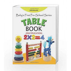 Baby\'s First Pre-School Series: Table Book by Dreamland Publications Book-9789350892886