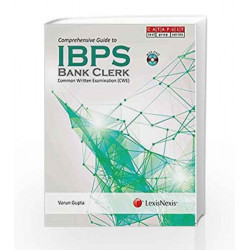 Comprehensive Guide to IBPS - Bank Clerk (With DVD) Common Written Examination by Varun Gupta Book-9789351432845