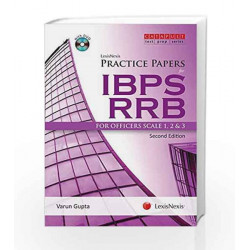 Practice Papers For Ibps Rrb-For Officers Scale 1, 2 & 3 (With Dvd) by Varun Gupta Book-9789351439257