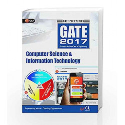 Gate Guide Computer Science & Information Technology Engg. 2017 by GKP Book-9789351448440
