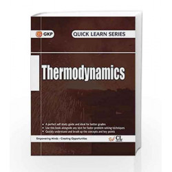 Quick Learn Series Thermodynamics by GKP Book-9789351449102