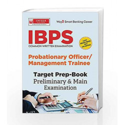 IBPS Probationary Officer/Management Trainee (18.75.1) by Unique Research Academy Book-9789351874768