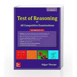 Test of Reasoning for All Competitive Examinations by AHMAD Book-9789352604951