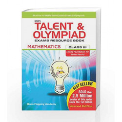 BMA\'s Talent & Olympiad Exams Resource Book for Class - 3 (Maths) by Brain Mapping Academy Book-9789382058472